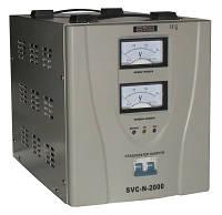 Стабилизатор напряжения SVC-N-2000 2 кВА сервоприводный переносной, АСКО-УКРЕМ