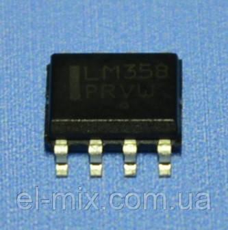 Микросхема LM358DR2G  so-8  ON