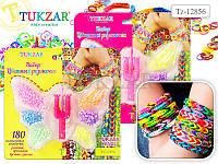 Набор цветных резиночек для детского творчества ЛУМ.