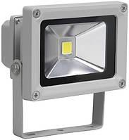 Прожектор СДО01-10 (10 Вт) светодиодный (LED, чип COB) серый IP65, IEK