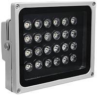 Прожектор СДО02-20 (20 Вт) светодиодный (LED, дискретные светодиоды) серый IP65, IEK