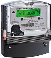 Счетчик НІК 2303 АТ1 1100 трехфазный 5(10) А 100 В электронный однотарифный, NiK