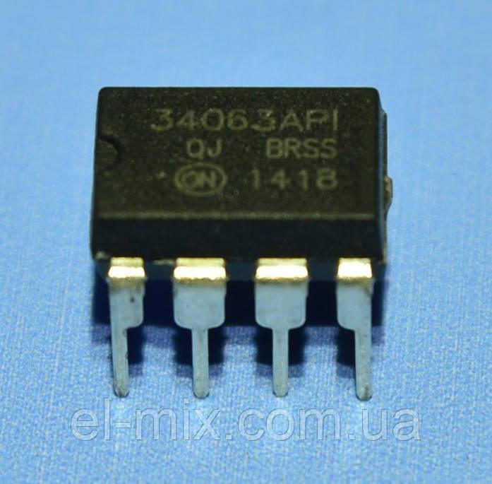 Микросхема MC34063API  dip8  ON