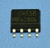 Микросхема MC4558CDT  so8  STM