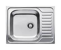 Нержавеющая кухонная мойка Fabiano.65x50(Микродекор)