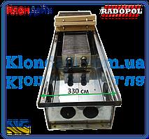 Внутрипольный конвектор Radopol KV 10 350*800