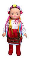 Кукла украинка мягконабивная с лицом и ладошками из ПВХ