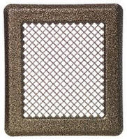 Каминная решетка  (антик мідь) К2 175x195 (140x165)