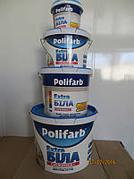 Краска водоэмульсионная Полифарб Снежинка 4,2 кг.