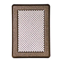 Решетка каминная (антик мідь) К3 175x245 (140x215)