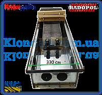Внутрипольный конвектор Radopol KV 10 330*3750