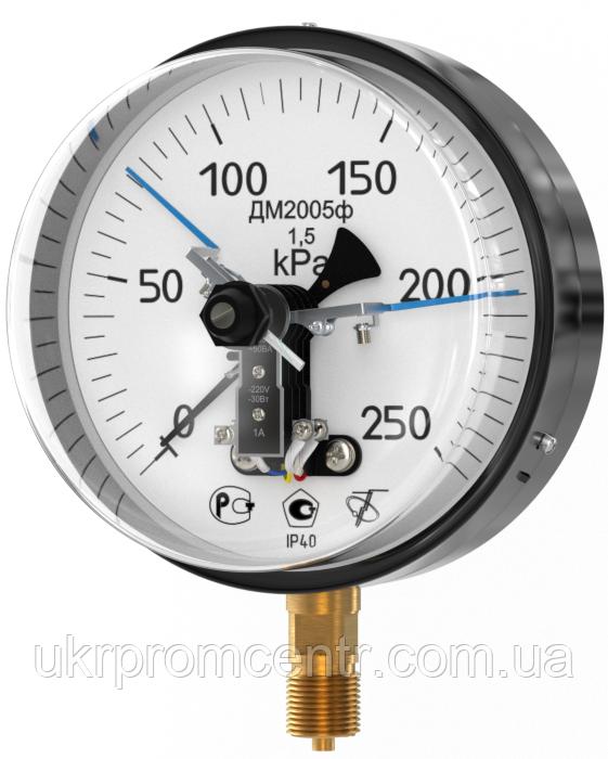 Манометр электроконтактный ДМ2005ф, мановакуумметр ДА2005ф, вакуумметр ДВ2005ф