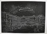 Скретч-картина Ночная Венеция