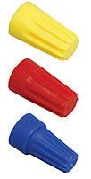 Соединительный изолирующий зажим СИЗ-1 1,0-3,0 мм² желтый (упаковка 5 шт.), IEK
