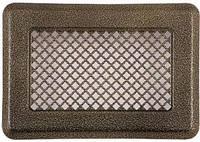 Вентиляционная решетка (антик латунь) К1 135x195 (105х165)