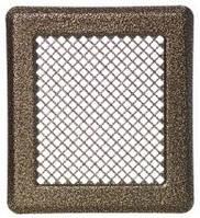 Каминная решетка (антик латунь) К2 175x195 (140x165)