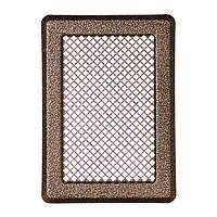 Решетка каминная антик латунь К3 175x245 (140x215), фото 1