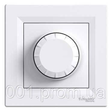 Светорегулятор поворотный проходной 600 Вт белый EPH6400121 серия Asfora, Schneider Electric - Интернет-магазин «001.com.ua» в Киеве
