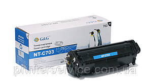 Картридж 703 аналог, совместимый Q2612A для Canon LBP-2900, HP LJ 1010 series