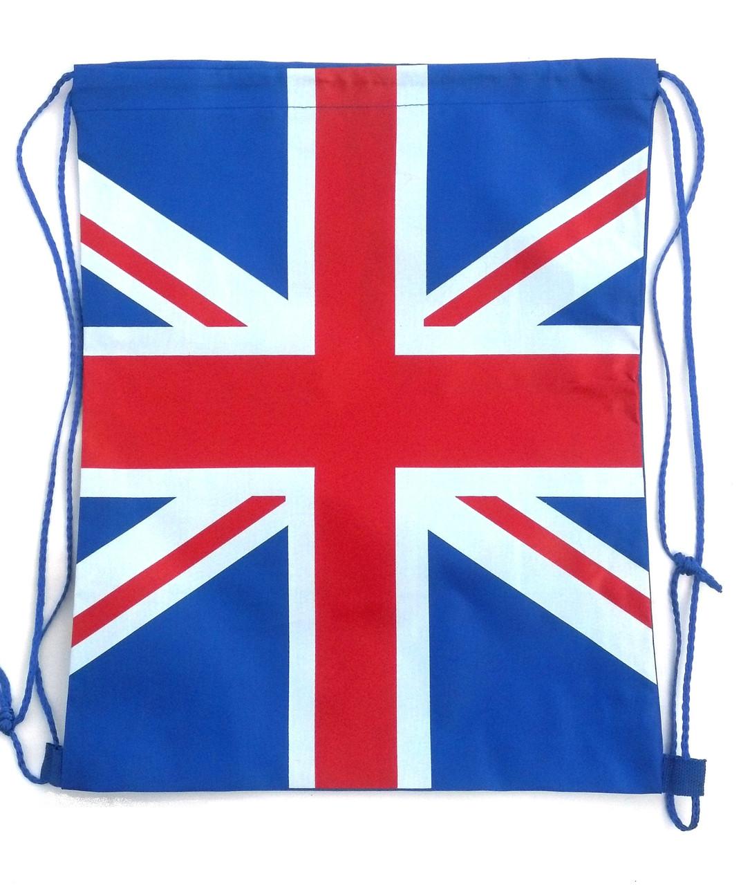 """Сумка для сменной одежды """"Английский флаг"""""""