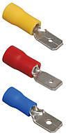 Разъем РпИп 2-5-0,8 плоский (папа) 1,5-2,5 мм² (упаковка 20 шт.), IEK