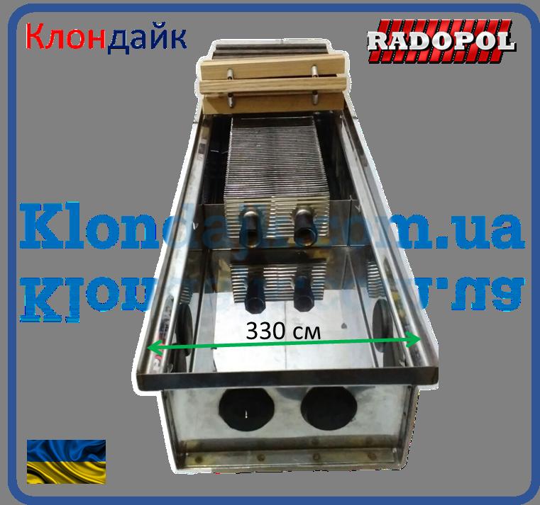 Внутрипольный конвектор Radopol KV 14 350*800