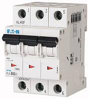 Автоматический выключатель PL4-B16/3 3P 16 А х-ка B, Eaton (Moeller), фото 1