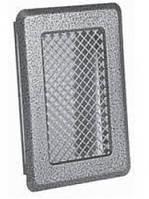 Вентиляционная решетка решетка (антик срібло) К1 135x195 (105х165)