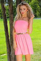 Платье женское летнее корсет Р47, фото 1