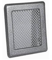 Каминная решетка  (антик срібло) К2 175x195 (140x165)