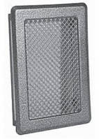 Решетка каминная (антик срібло) К3 175x245 (140x215)