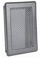 Решетка каминная (антик срібло) К3 175x245 (140x215)  , фото 1
