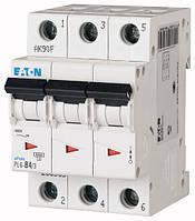 Автоматический выключатель PL6-B4/3 3P 4 А х-ка B, Eaton (Moeller), фото 1