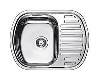 Нержавеющая кухонная мойка Fabiano.63x49(Микродекор)