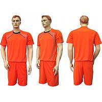 Форма футбольная 318 оранжево-черная