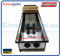 Внутрипольный конвектор Radopol KV 14 250*3750