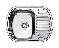 Нержавеющая кухонная мойка Fabiano.63x49(Сатин)