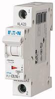 Автоматический выключатель PL7-C0,16/1 1P 0,16 А х-ка C, Eaton (Moeller), фото 1