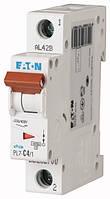 Автоматический выключатель PL7-C4/1 1P 4 А х-ка C, Eaton (Moeller), фото 1