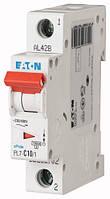 Автоматический выключатель PL7-C10/1 1P 10 А х-ка C, Eaton (Moeller), фото 1