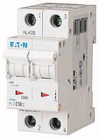 Автоматический выключатель PL7-C50/2 2P 50 А х-ка C, Eaton (Moeller), фото 1