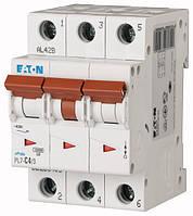 Автоматический выключатель PL7-C4/3 3P 4 А х-ка C, Eaton (Moeller), фото 1