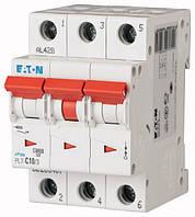 Автоматический выключатель PL7-C10/3 3P 10 А х-ка C, Eaton (Moeller), фото 1