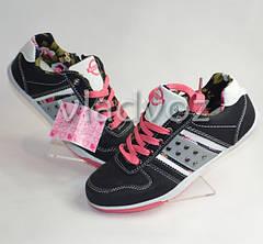 Спортивные туфли кроссовки для девочки 31-36р. чёрный Badoxx
