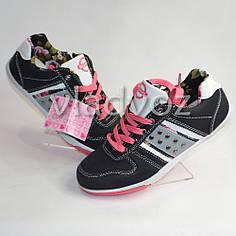 Детские кроссовки для девочки Badoxx 33р.чёрный