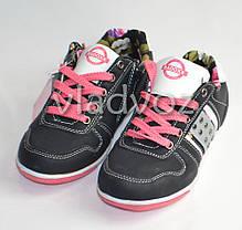 Детские кроссовки для девочки Badoxx 33р.чёрный, фото 2
