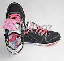 Детские кроссовки для девочки Badoxx 33р.чёрный, фото 3