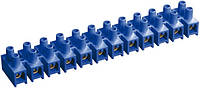 Зажим винтовой ЗВИ-5 1,5-4 мм² полистирол синий (упаковка 2 шт.), IEK