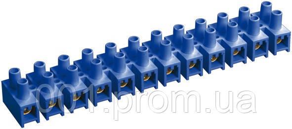 Зажим винтовой ЗВИ-5 1,5-4 мм² полистирол синий (упаковка 2 шт.), IEK - Интернет-магазин «001.com.ua» в Киеве