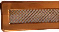 Металлическая вентиляционная решетка К 0 (мідь) 65x205 (45x185)